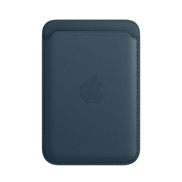 Kožená peňaženka s MagSafe pre iPhone - baltská modrá 1