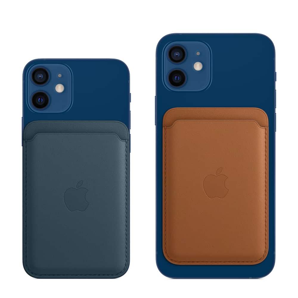 Kožená peňaženka s MagSafe pre iPhone - baltská modrá 3