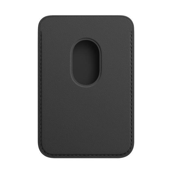 Kožená peňaženka s MagSafe pre iPhone - čierna 3