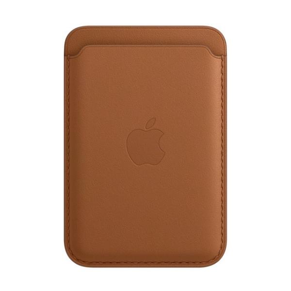 Kožená peňaženka s MagSafe pre iPhone - sedlovo hnedá 1