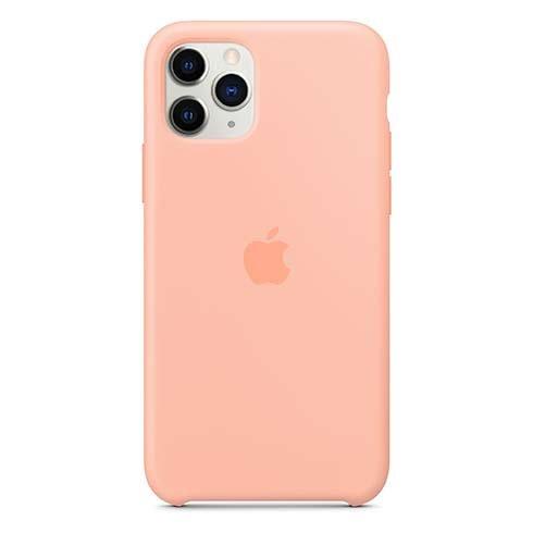 Apple silikónový obal pre iPhone 11 Pro – grepovo ružový 1