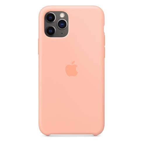 Apple silikónový obal pre iPhone 11 Pro – grepovo ružový 4