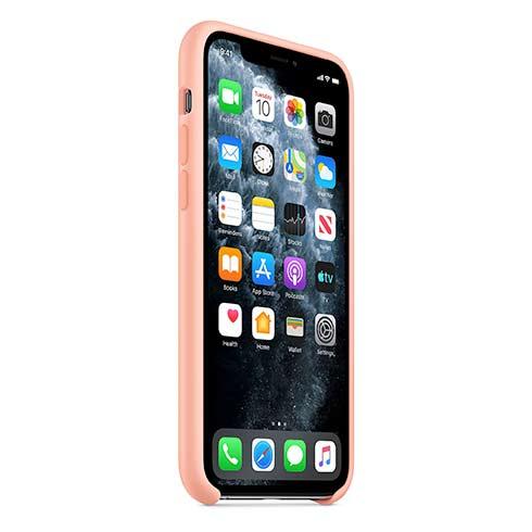 Apple silikónový obal pre iPhone 11 Pro – grepovo ružový 2