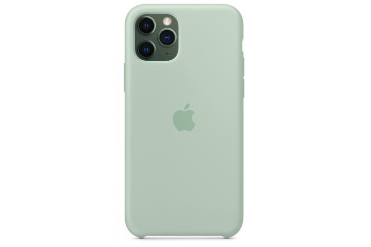 Apple silikónový obal pre iPhone 11 Pro - berylovo zelený 3