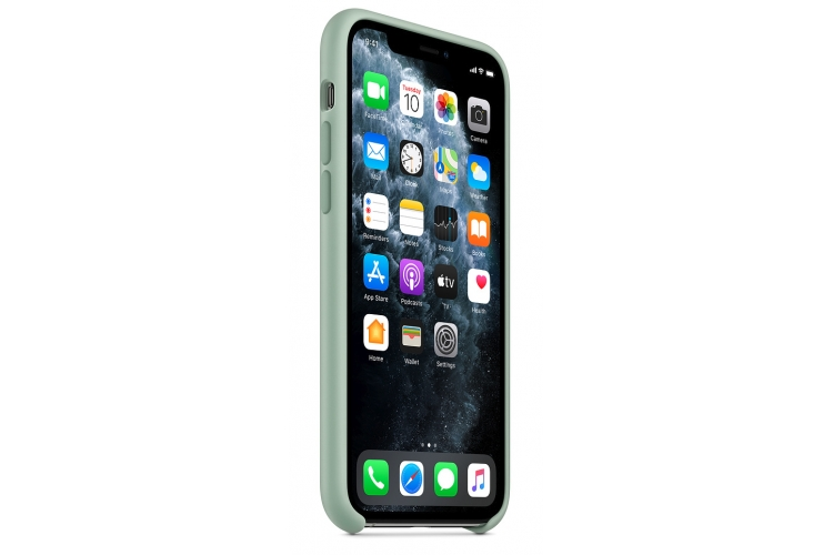 Apple silikónový obal pre iPhone 11 Pro - berylovo zelený 2