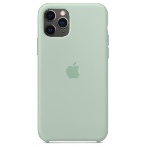 Apple silikónový obal pre iPhone 11 Pro - berylovo zelený 4