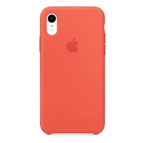 Apple silikónový obal pre iPhone XR – oranžový 1