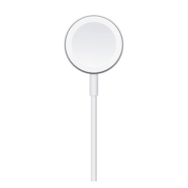 Nabíjací kábel magnetický pre Apple Watch, 1m - biely 2