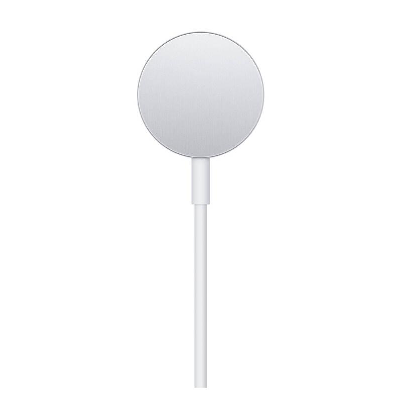 Nabíjací kábel magnetický pre Apple Watch, 1m - biely 3