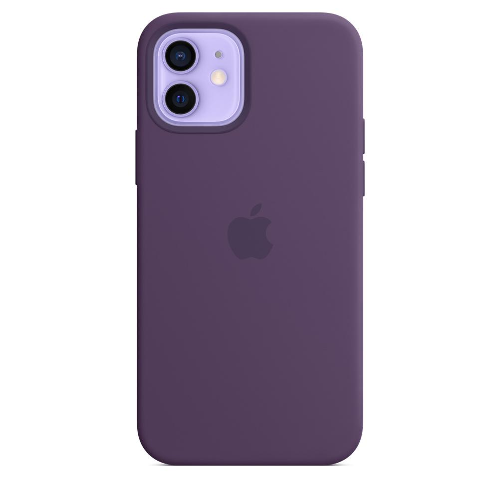 Apple silikónový obal pre iPhone 12/12 Pro – ametystový 3