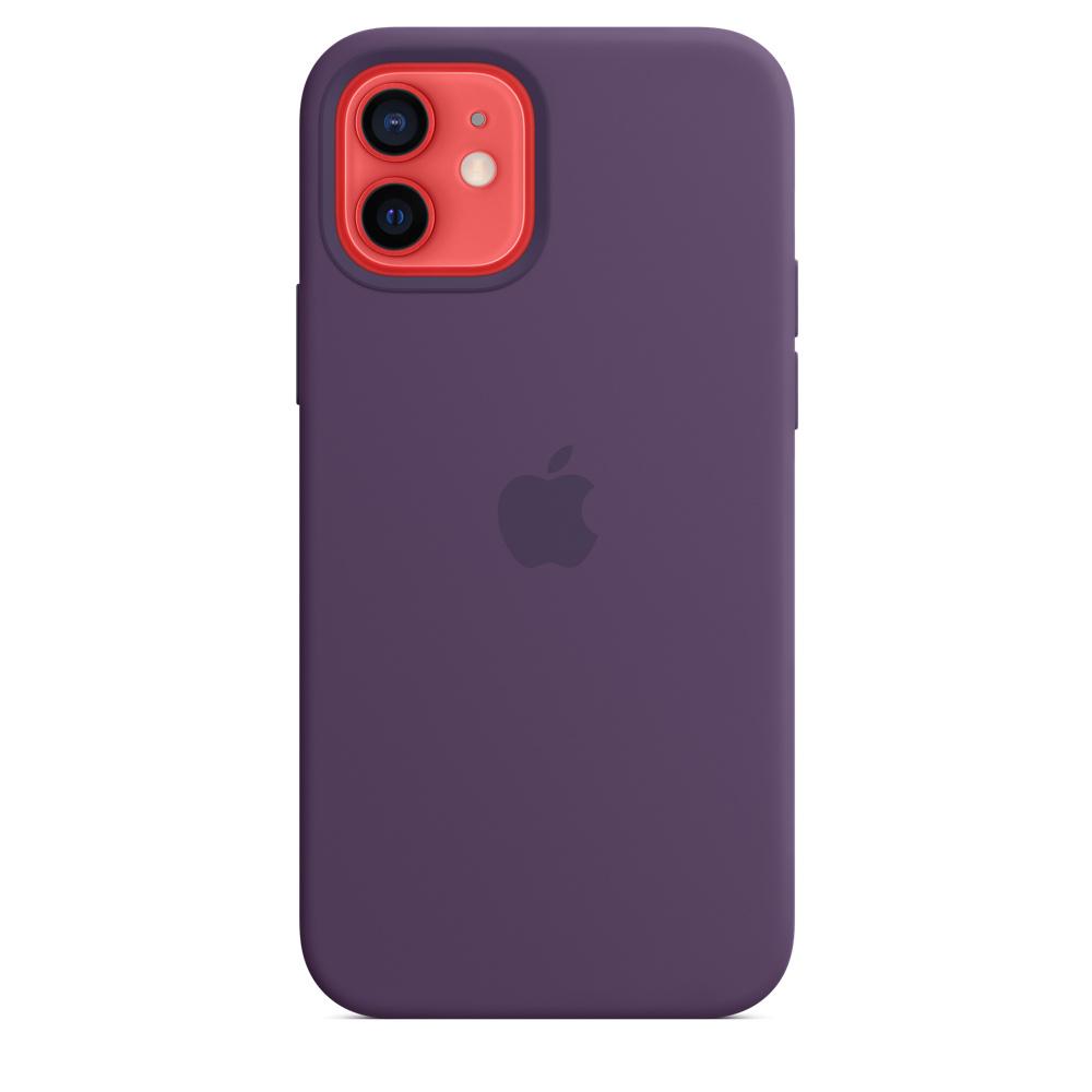 Apple silikónový obal pre iPhone 12/12 Pro – ametystový 6