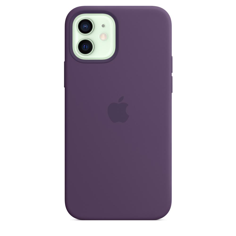 Apple silikónový obal pre iPhone 12/12 Pro – ametystový 1