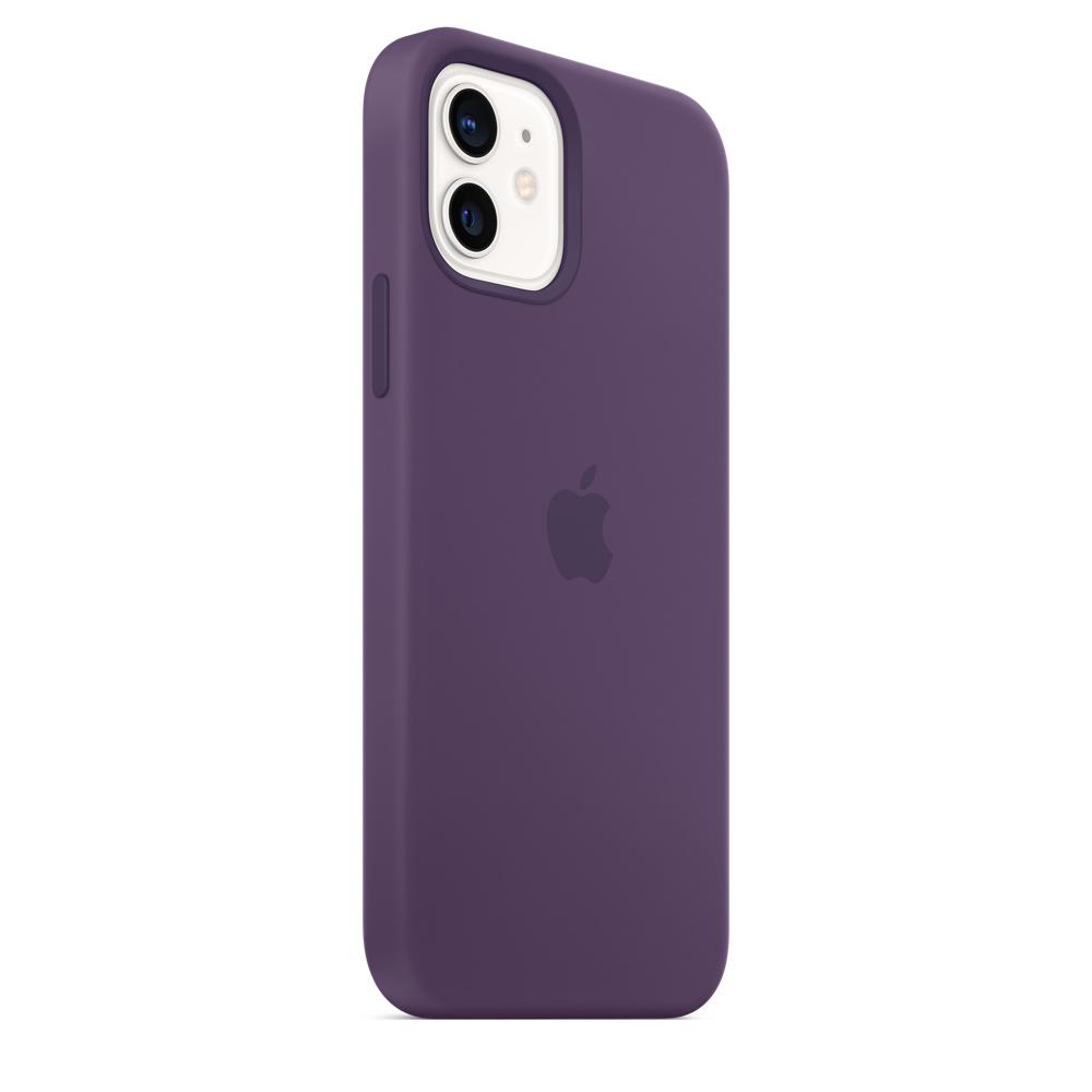 Apple silikónový obal pre iPhone 12/12 Pro – ametystový 5