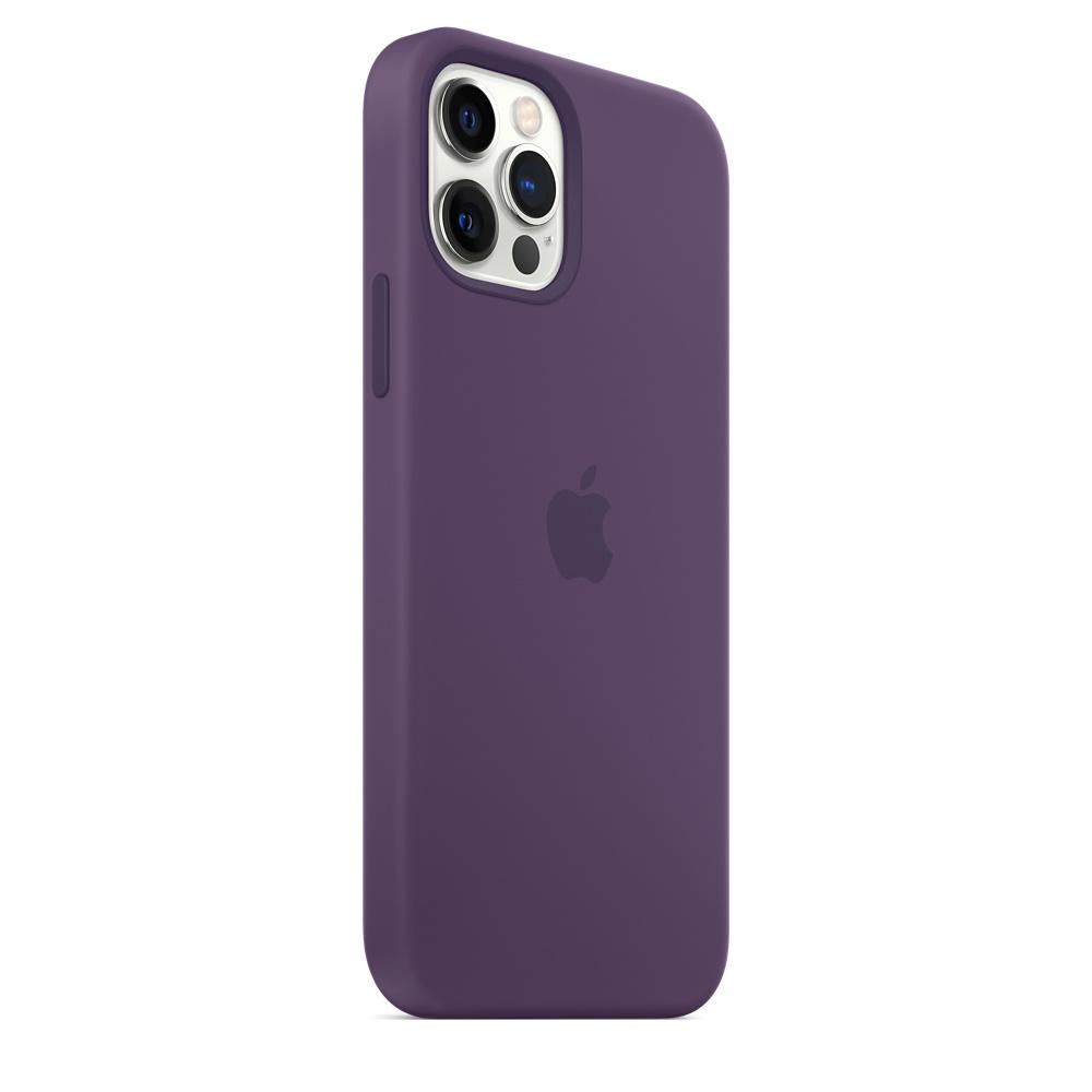 Apple silikónový obal pre iPhone 12/12 Pro – ametystový 4