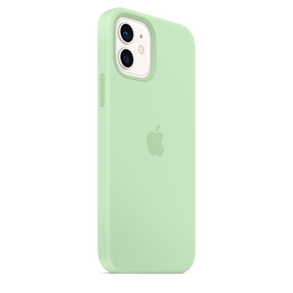 Apple silikónový obal pre iPhone 12/12 Pro – pistáciový 3