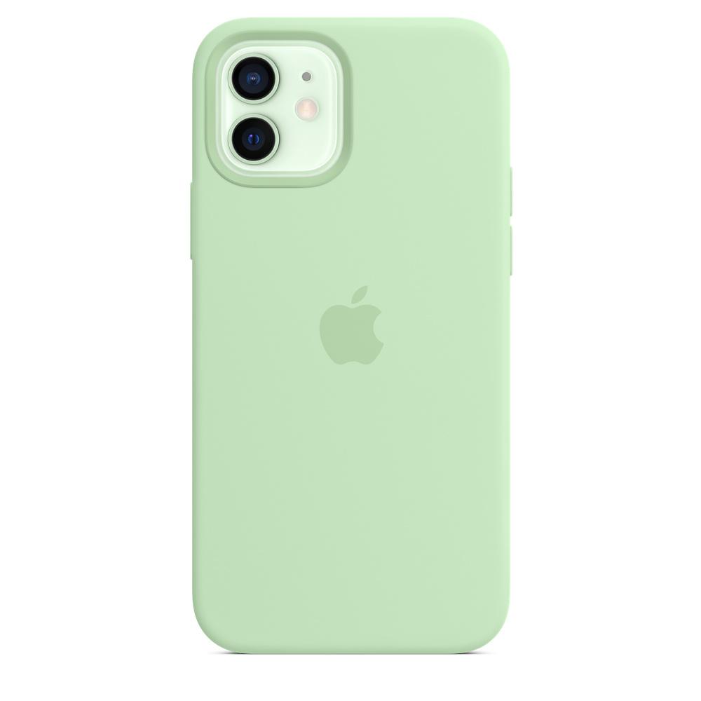 Apple silikónový obal pre iPhone 12/12 Pro – pistáciový 1