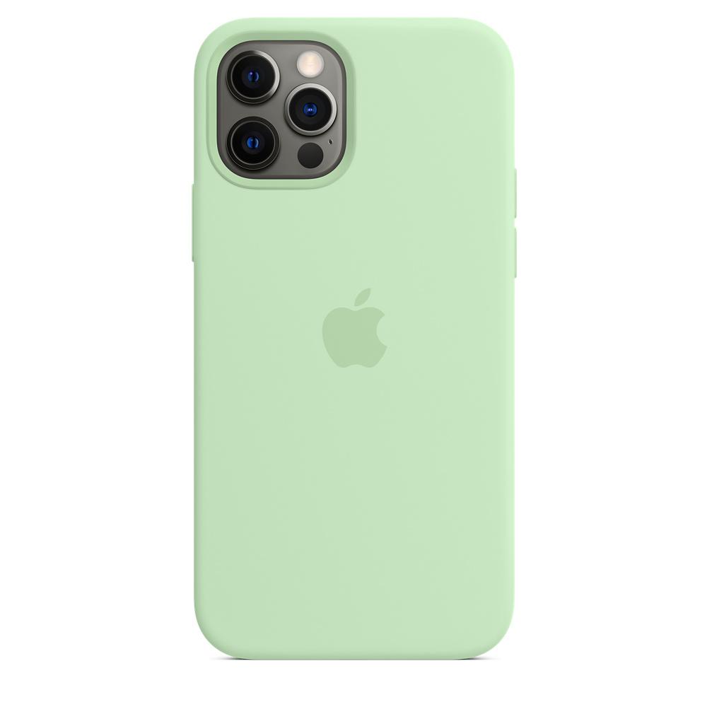Apple silikónový obal pre iPhone 12/12 Pro – pistáciový 5