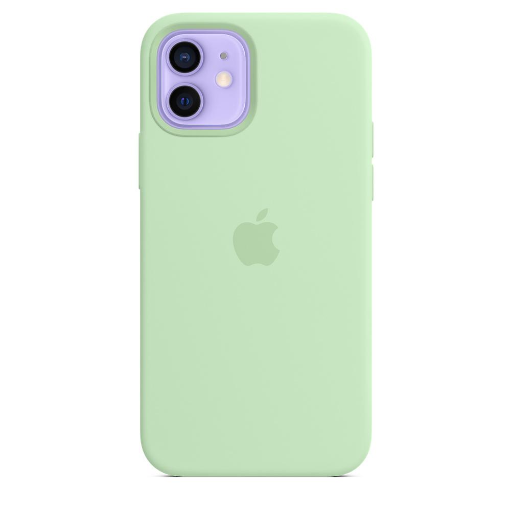 Apple silikónový obal pre iPhone 12/12 Pro – pistáciový 4