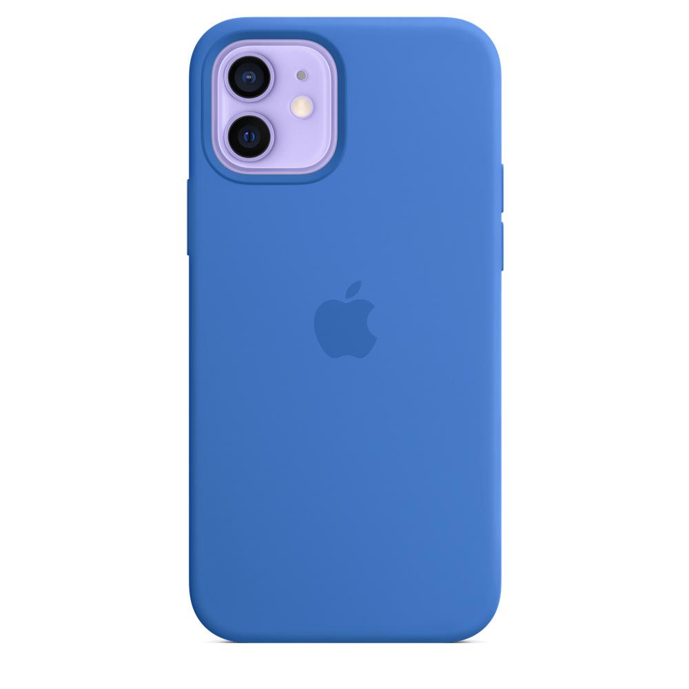 Apple silikónový obal pre iPhone 12/12 Pro – stredomorsky modrý 2