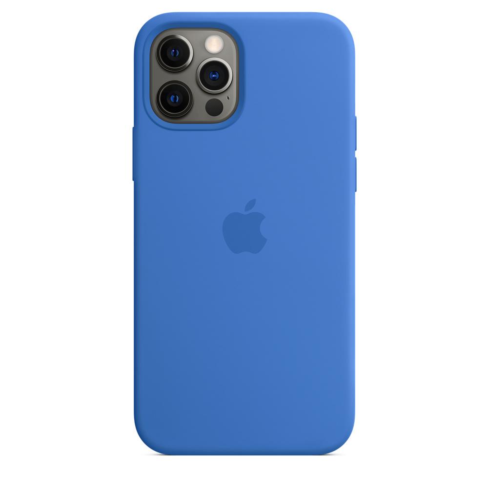 Apple silikónový obal pre iPhone 12/12 Pro – stredomorsky modrý 6
