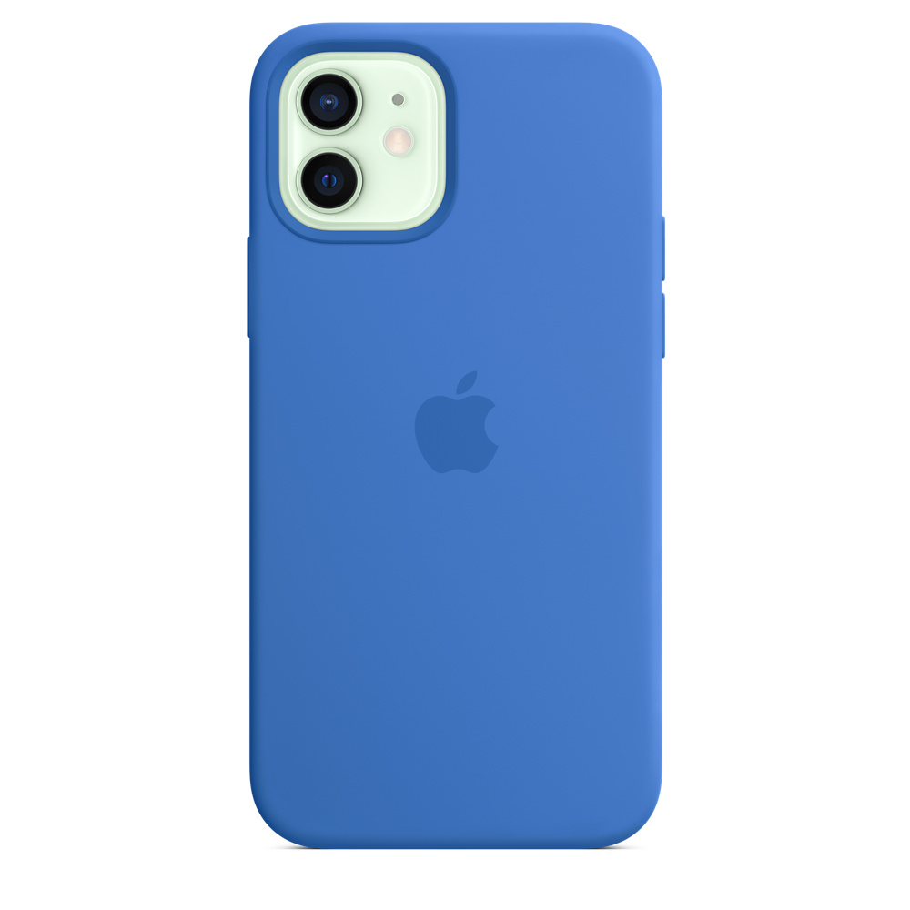 Apple silikónový obal pre iPhone 12/12 Pro – stredomorsky modrý 1