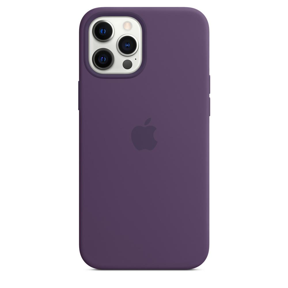 Apple silikónový obal pre iPhone 12 Pro Max – ametystový 4