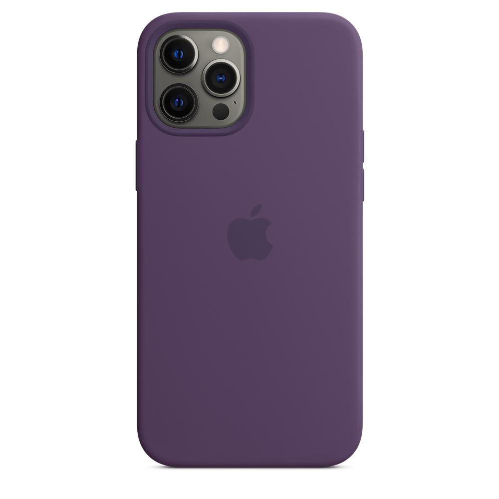 Apple silikónový obal pre iPhone 12 Pro Max – ametystový 3