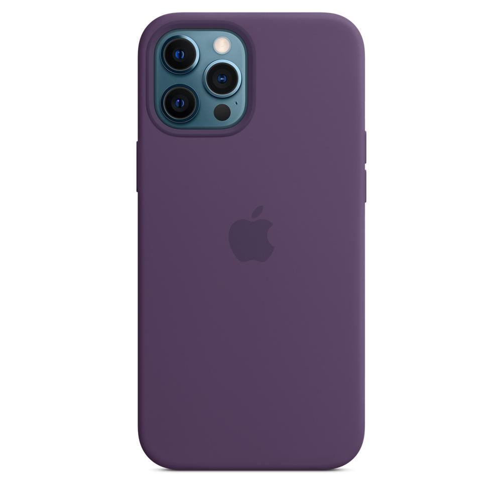 Apple silikónový obal pre iPhone 12 Pro Max – ametystový 2