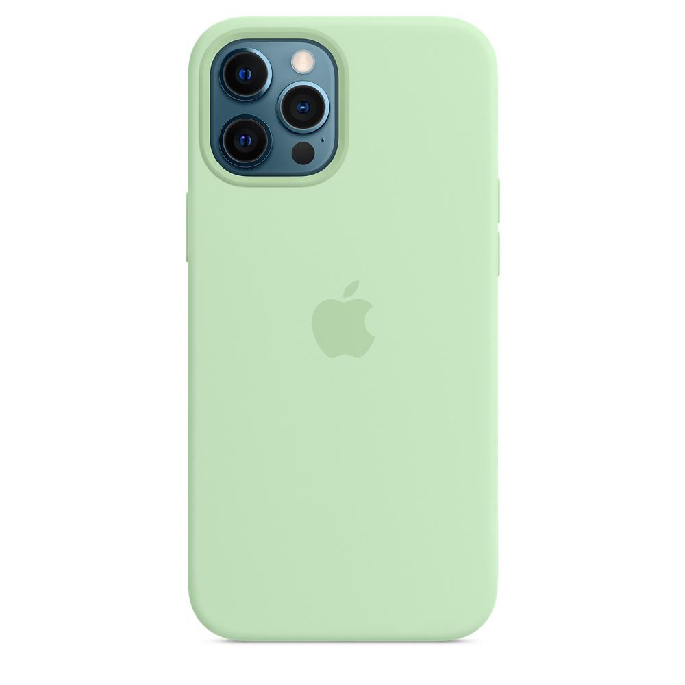 Apple silikónový obal pre iPhone 12 Pro Max – pistáciový 3