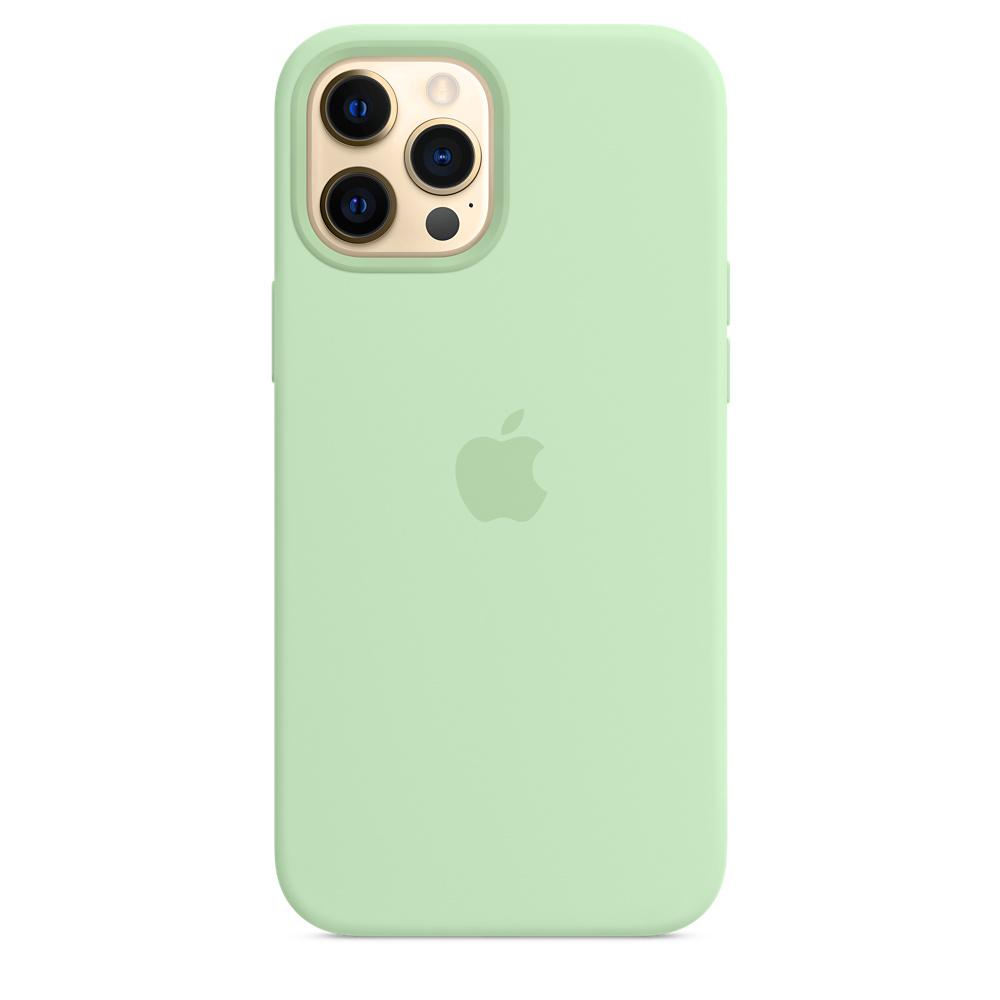 Apple silikónový obal pre iPhone 12 Pro Max – pistáciový 1