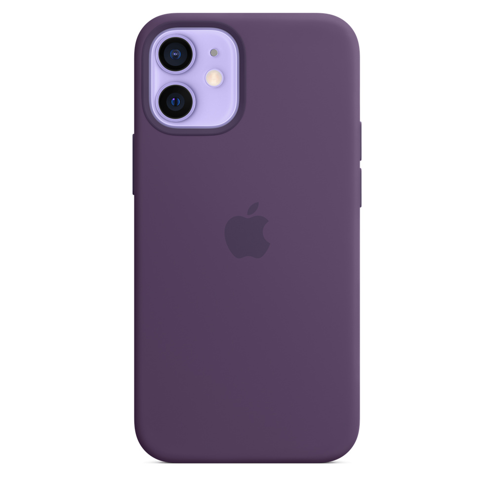 Apple silikónový obal pre iPhone 12 mini – ametystový 2