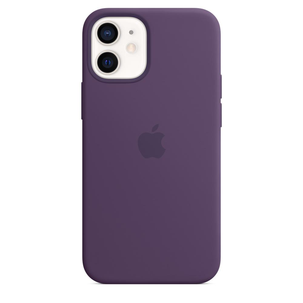 Apple silikónový obal pre iPhone 12 mini – ametystový 1