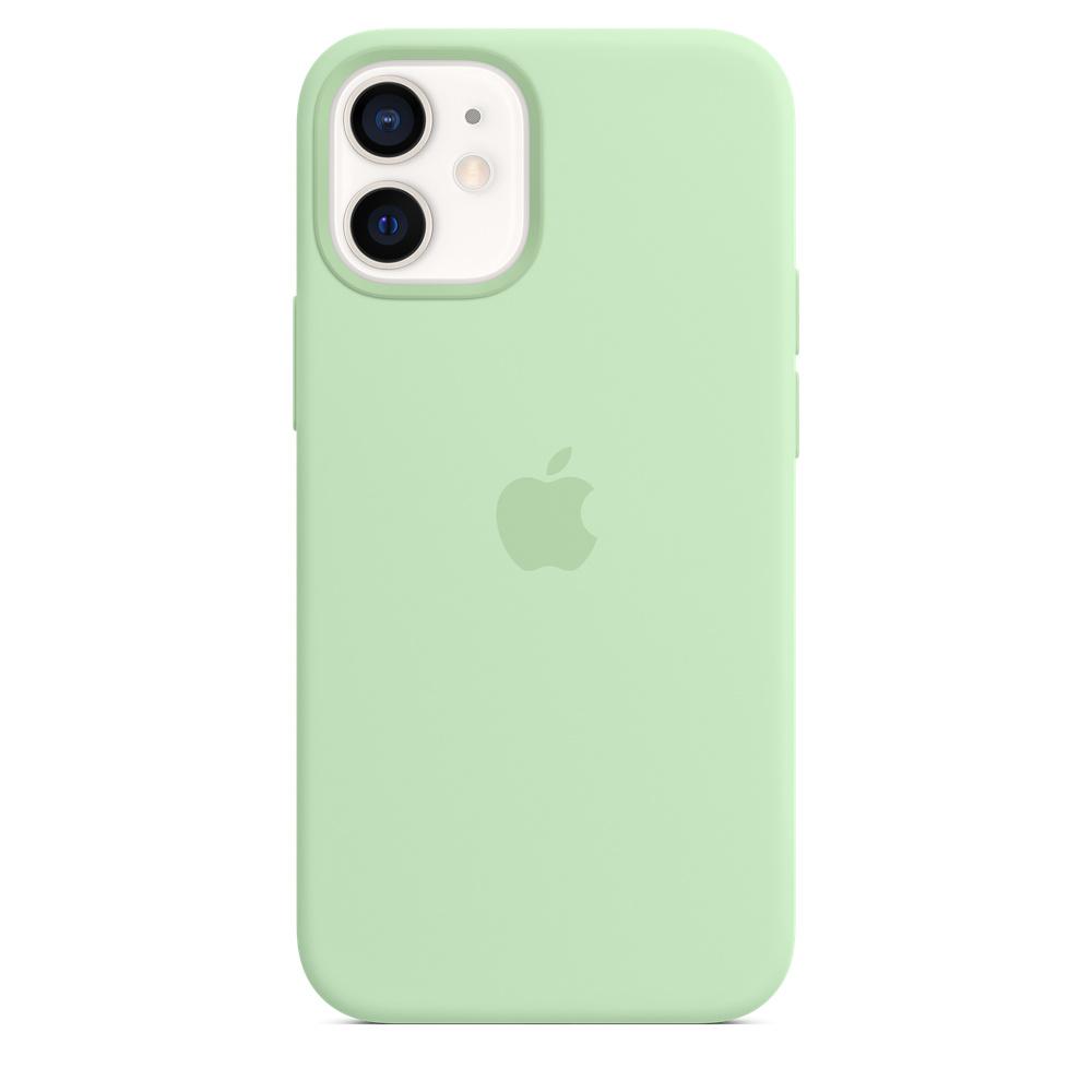 Apple silikónový obal pre iPhone 12 mini – pistáciový 4