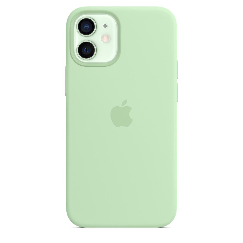 Apple silikónový obal pre iPhone 12 mini – pistáciový 1