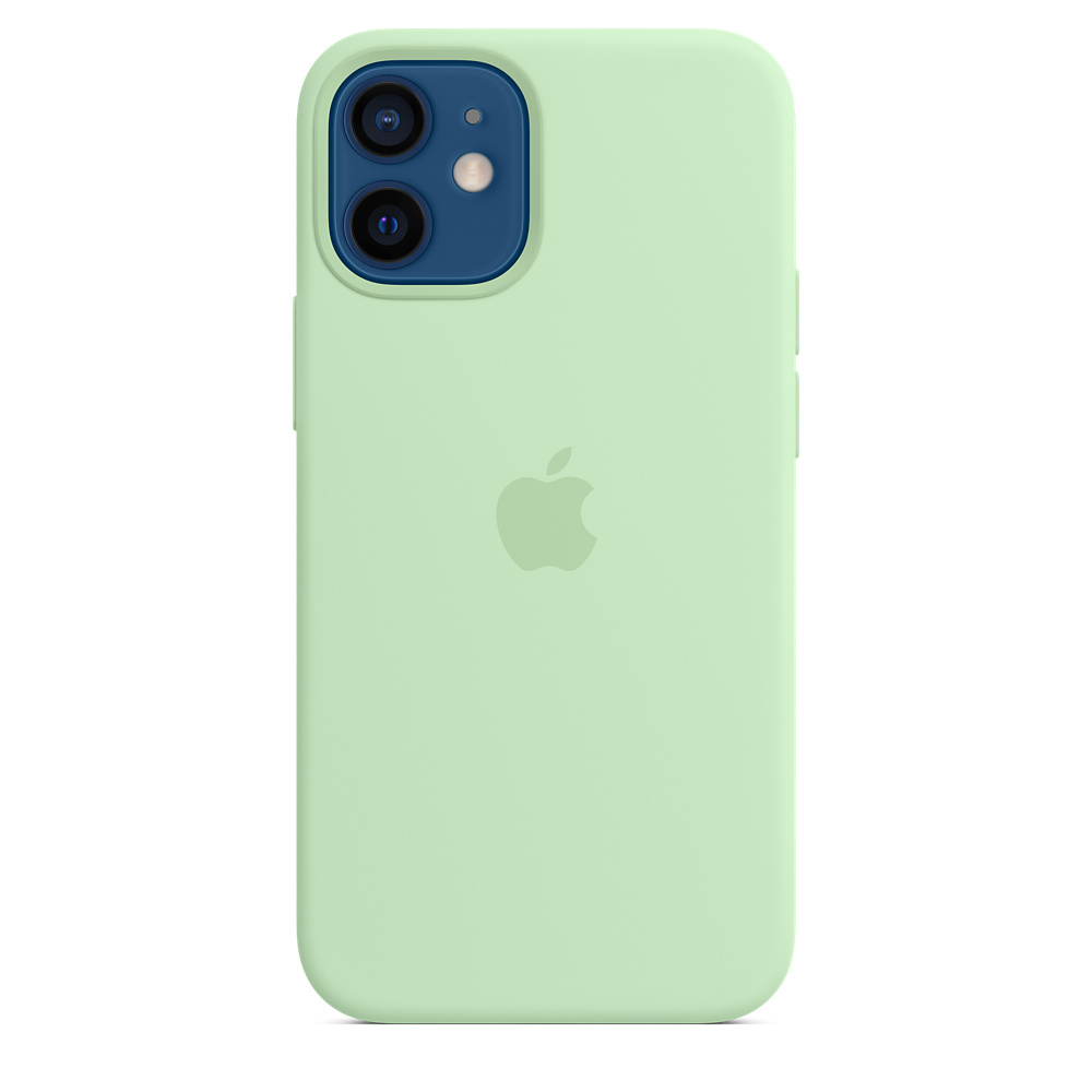 Apple silikónový obal pre iPhone 12 mini – pistáciový 2