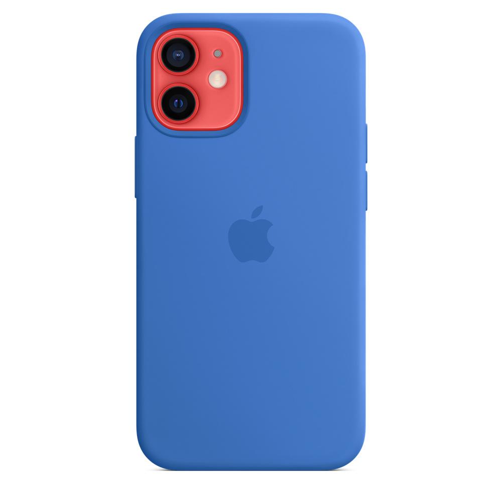 Apple silikónový obal pre iPhone 12 mini – stredomorsky modrý 4
