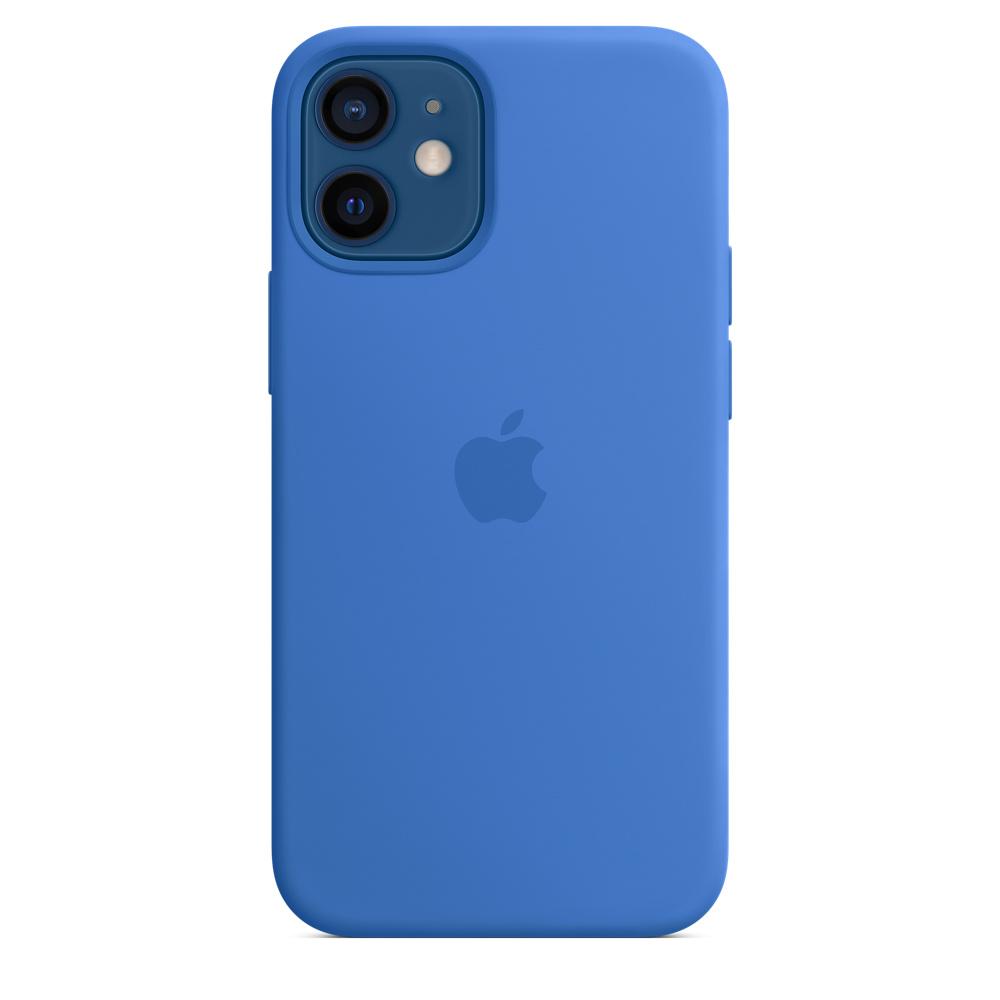 Apple silikónový obal pre iPhone 12 mini – stredomorsky modrý 2