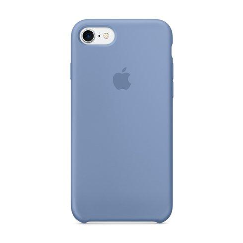 Apple silikónový obal pre iPhone 7 / 8 – azúrový 1