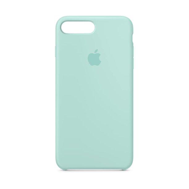 Apple silikónový obal pre iPhone 7 Plus / 8 Plus – nármonícky zelený 3