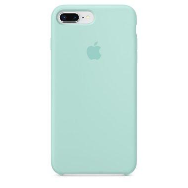 Apple silikónový obal pre iPhone 7 Plus / 8 Plus – nármonícky zelený 1